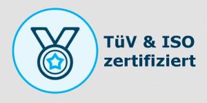 TüV & ISO zertifiziert